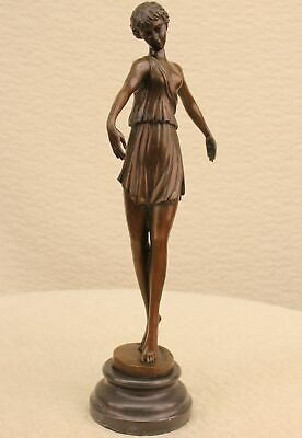 Vintage Art Nouvea Letter Opener Lady Figure Unique Offer We Have Won Praise From Customers Periods & Styles