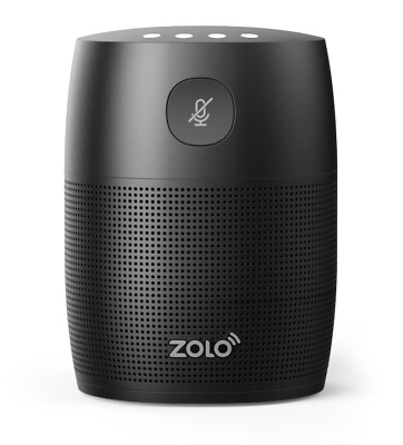 Zolo By Anker- Mojo Voice Activated Speaker- Powerful Sound- W/ Google Assistant