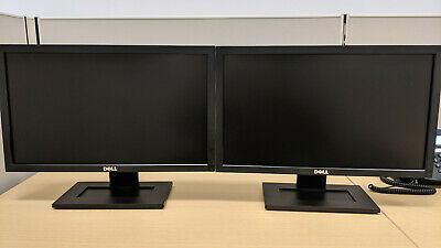 Lot of 2 x Dell E2011HC LED LCD Monitor