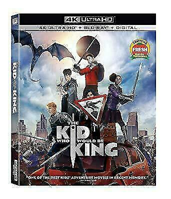 The Kid Who Would Be King 4K Ultra HD + Blu-ray + Digital Brand New no slipcase