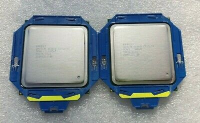 Matched Pair of Intel Xeon E5-2670 C2 Socket 2011 SR0KX 2.60 Ghz 20Mb 8-Core