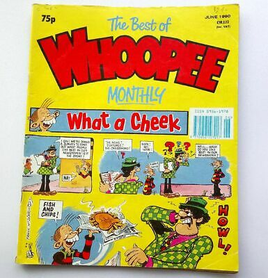 The Best of Whoopee Monthly June 1990 Collectable Childrens Kids Comic *