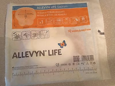 "LOT 16 Allevyn Life Foam Sacrum dressing  Smith and Nephew 6 3/4"" X 6 7/8"" NEW"