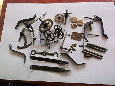 Cogs Etc  From A Very Old Wall Clock Mechanism Was 1 1/2 Inch Deep  Inside