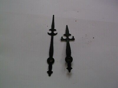 Pair Of Brass Hands From An Old Wall Clock  Ref V V 21