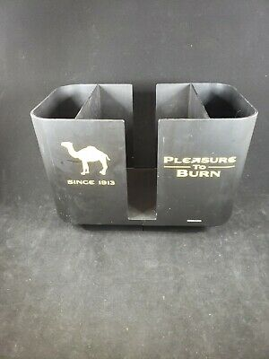 Camel Cigarettes Bar Caddy Barware Man Cave Straw Napkin Holder