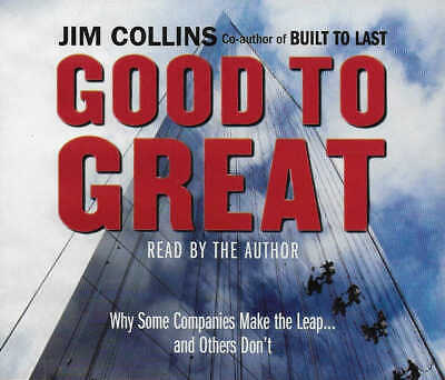 Jim Collins - GOOD TO GREAT Why Some Companies Make the Leap.. - CD Audio Book
