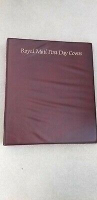 Royal Mail First Day Cover Album.-Acceptable.-Holds 40