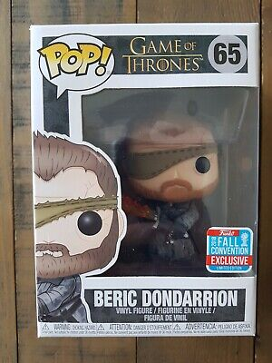 Funko Pop Vinyl Beric Dondarrion Game Of Thrones NYCC 2018 Fall Convention #65