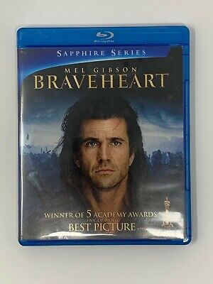 Braveheart (1995) Blu-Ray Buy 7 Get 1 Free! Pay $3 Shipping Once!