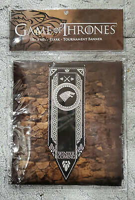 "Game of Thrones House Stark Tournament Banner 18""x 60"""