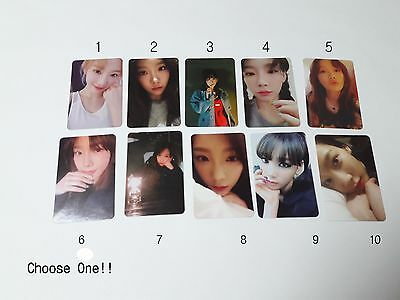 Taeyeon 1st My Voice Official Original selected Photocard 1p K-POP SNSD SM Idol