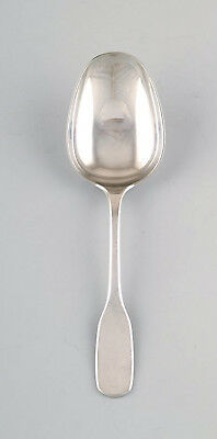 Hans Hansen cutlery Susanne serving spoon in sterling silver.