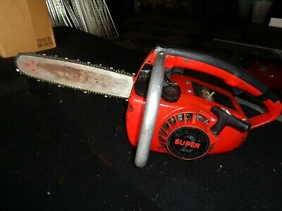 VINTAGE HOMELITE SUPER 2 Automatic Oiler Chain Saw NOS W/ Owners