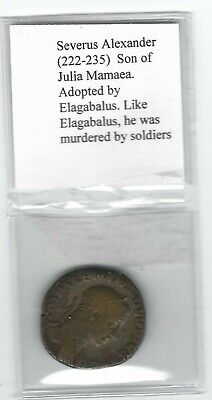 Ancient Roman Empire Bronze coin, Severus Alexander