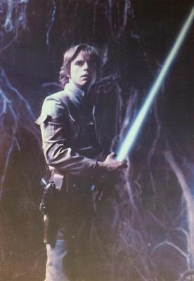 LUKE SKYWALKER The Empire Strikes Back STAR WARS 1980 Vintage Postcard