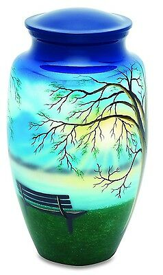 Lakeside View 210 Cubic Inches Large/Adult Funeral Cremation Urn for Ashes