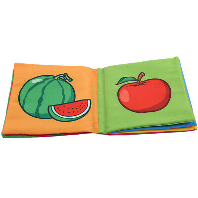 Baby Early Education Toy Intelligence Development Infant Number Cloth Book JJ