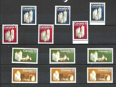 Canada 1972 XMAS ISSUES COMPLETE SCOTT 606-609pi VF MINT NH (BS13020-2)