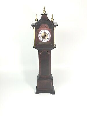 The Bombay Company Royston Mini Grandfather Clock, 2001 Missing Back