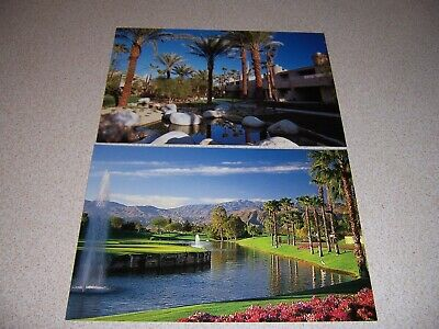 2007 The Westin Mission Hills Resort & Golf Course Ca. Vtg Postcard Lot