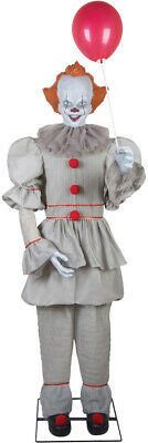 In Stock**   Halloween Life Size Animated Pennywise It Clown Prop Decoration