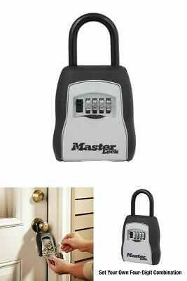 Master Lock Lock Box Preset Combination Portable Key Safe With 6 In Cable Lany