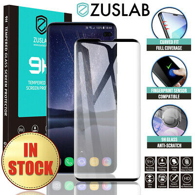 Samsung Galaxy S9 S8 Plus Note 9 Note 8 ZUSLAB Tempered Glass Screen Protector