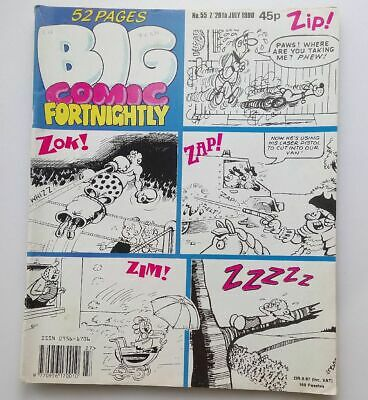 Big Comic Fortnightly 7 - 20 July 1990 Number # 55  Collectable  Kids Comic UK *