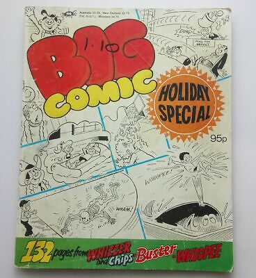 Big Comic Holiday Special 1988 Collectable  Kids Humour Comic Magazine UK *