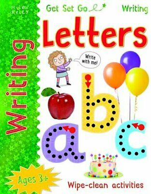 Get Set Go Writing: Letters by Miles Kelly Book The Cheap Fast Free Post