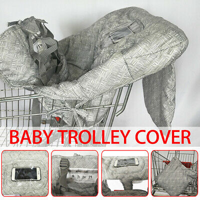 Baby Trolley Seat Cover High Chair Protective Soft Filled Mat Pad Kid