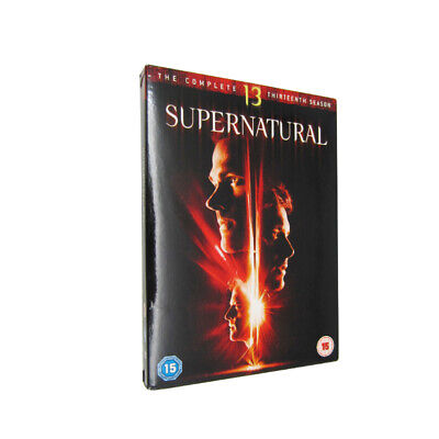 Supernatural Season 13 (DVD, 2018, 5-Disc Set)