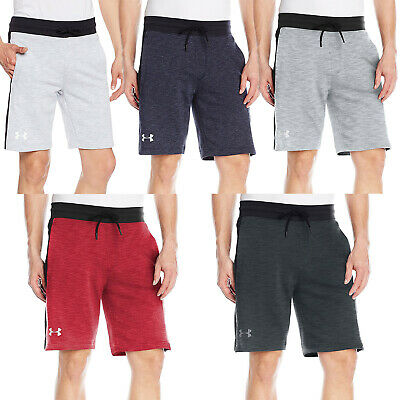 Under Armour UA Mens Sportstyle Fleece Graphic Sports Training Gym Shorts