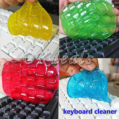 Cyber Super Cleaner Magic Dust Cleaning Compound Slimy Gel For Keyboard New PC