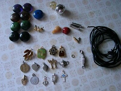 Lot of Pendants Charms - Jewelry Making supplies.