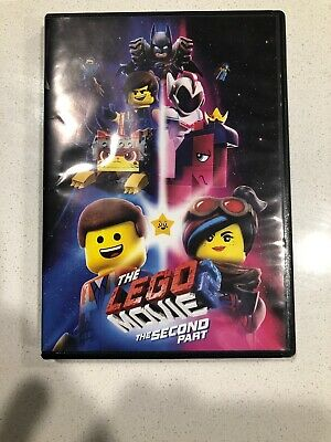 The LEGO Movie 2: The Second Part [DVD] [2019] (Disc Only) FREE SHIPPING!!!!