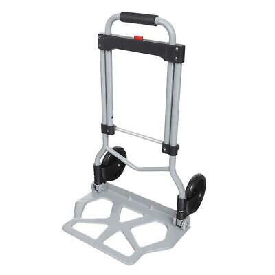 a1e868069597 PORTABLE FOLDING HAND Truck Dolly Luggage Carts, Silver, 220 lbs RTW ...