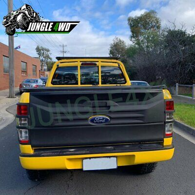 Rear Tail Gate Nudge Cladding Cover for Ford Ranger PX PX2 2012-2018