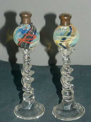 Glass Dosher Hand Blown Glass Pendant Clear And Distinctive