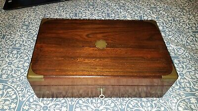 Antique Mahogany Writing Slope