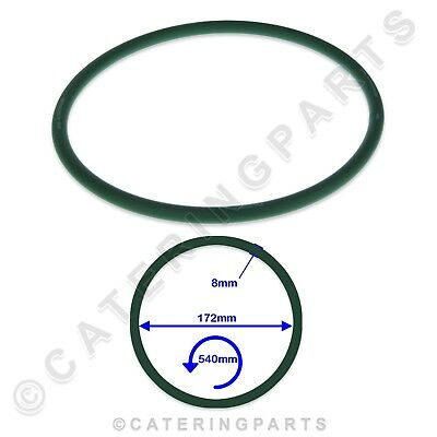 PIZZA GROUP 5070200 GREEN PIZZA DOUGH ROLLER STRETCHER DRIVE BELT 172x540x8mm