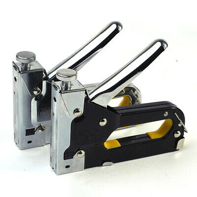 3in1 Staple Gun Nailer Cable Tacker W/ 200staples+200cable staples+200brad nails