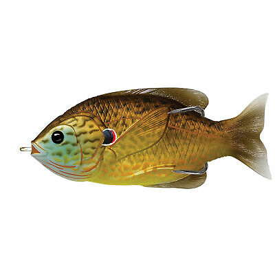 Livetarget Lures Sunfish Hb,Surface,Copper Pumpkinseed3/0
