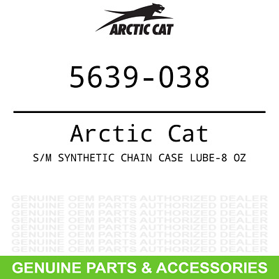 New Oem Arctic Cat Synthetic Chain Case Lube Oil 15oz 6639