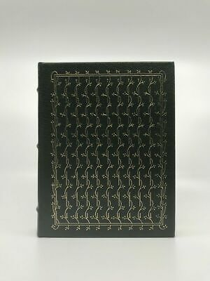 Deluxe Full Leather Bound Book Huckleberry Finn Twain Southern Literature Gilt