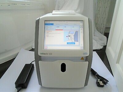 Roche Cobas B 123 Poc System Compact Touchscreen Medical Blood Gas Analyser Uk