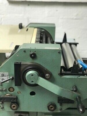 FOR SALE: FAG Swiss Proof 40 Flatbed Letterpress **EXCELLENT CONDITION**