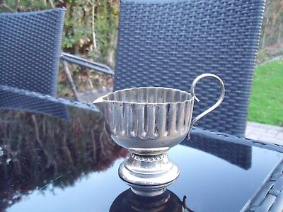 Antique Silver Plated Milk Jug/Creamer