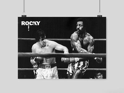 Rocky Balboa Poster Classic Movie Print Boxing A4 A3 Size